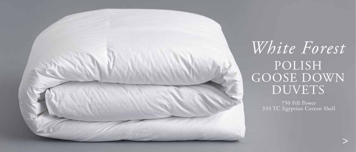 Anichini White Forest Luxury Polish Goose Down Duvets