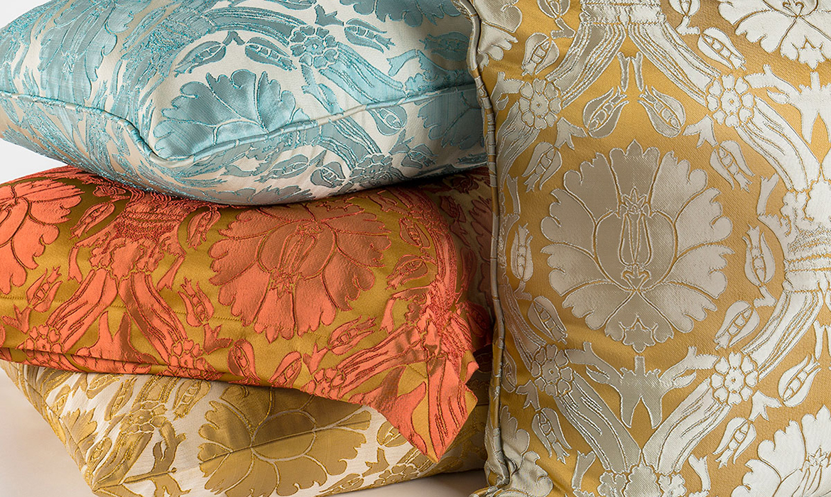Anichini Brocade Decorative Pillows