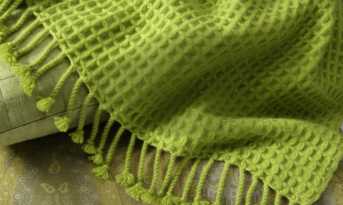 Anichini Handwoven Cashmere Throws