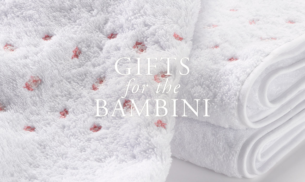 Gifts For The Baby - Embroidered Baby Towels