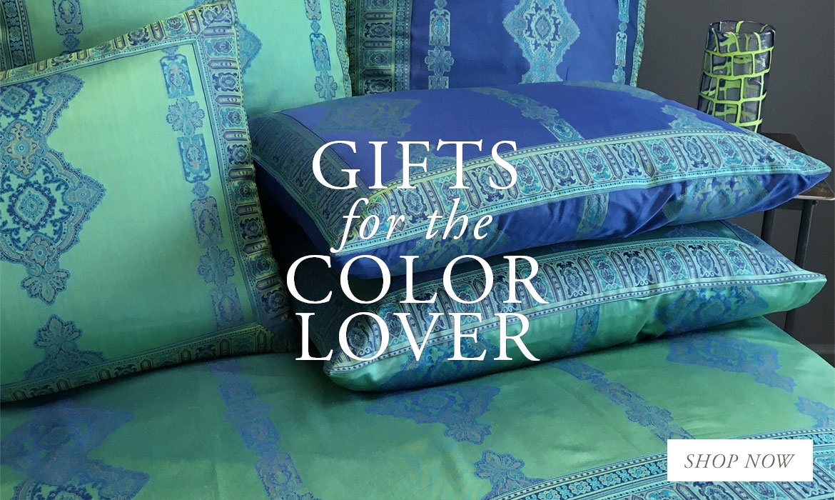 Gifts For The Color Lover - The Most Elaborate Marine Blue And Jade Green Sheets
