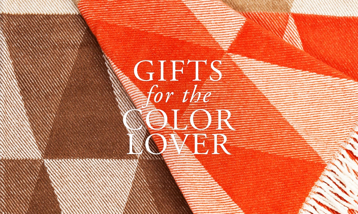 Gifts For The Color Lover - Washable Cotton Blend Throws