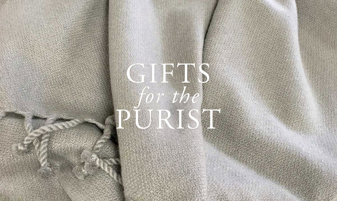 Gifts For The Purist - Handwoven Cashmere Throws