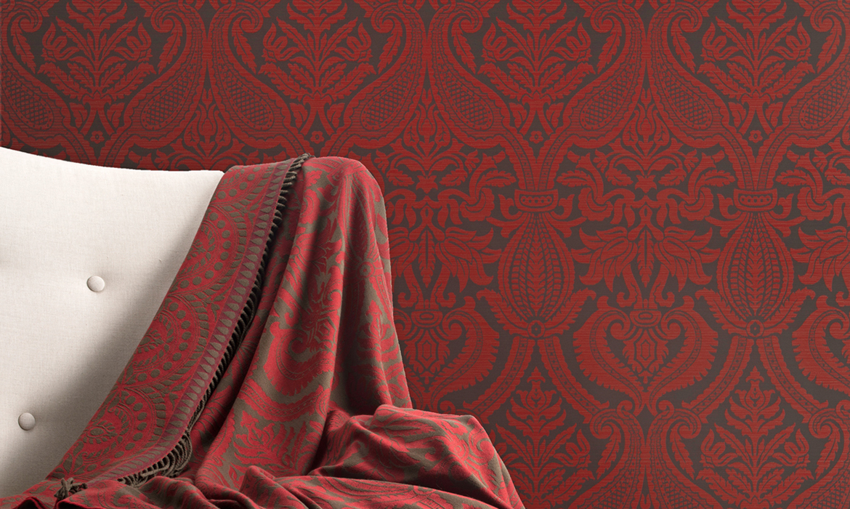 Anichini Italianate Wallcoverings: Wide-Width, Environmentally Friendly Luxury Designer Wallcoverings