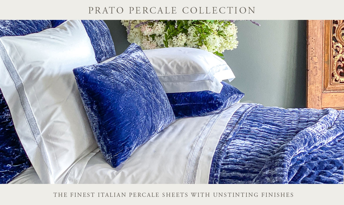 The Best Luxury Italian Percale High End Sheets