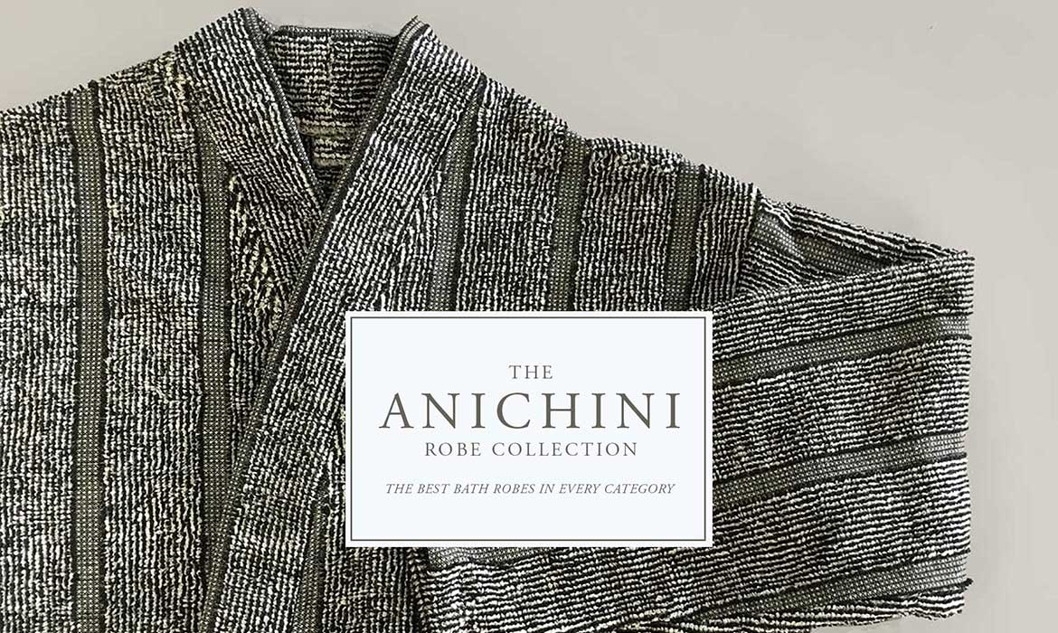 Anichini Vilnius Linen Terry Robes