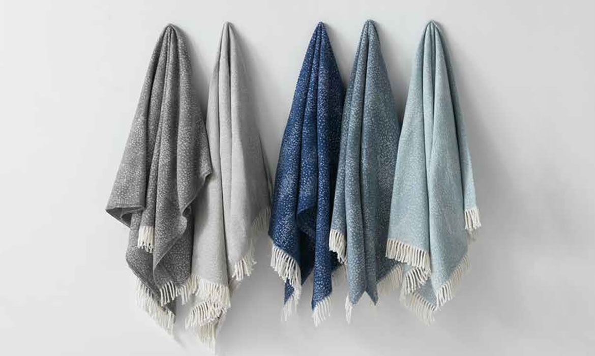 New Washable Cotton Blend Throws For The Hospitality Market