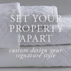ANICHINI Hospitality Custom Bath Linens