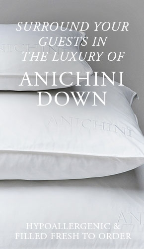 ANICHINI Hospitality Luxury Down Bedding For The Hotels, Resorts, and Spas