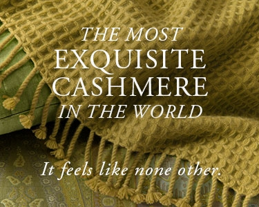 Anichini Cashmere is the most exquisite cashmere in the world.