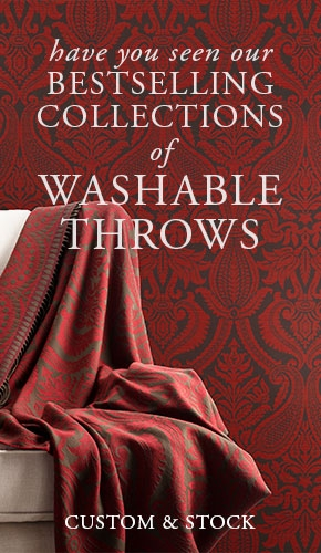 Our Bestselling Washable Throw Collections