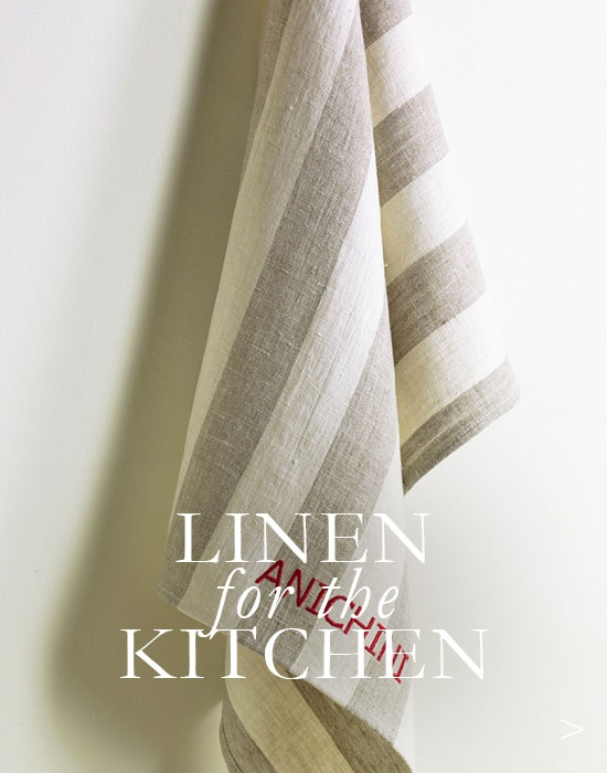 Linen Kitchen Linens