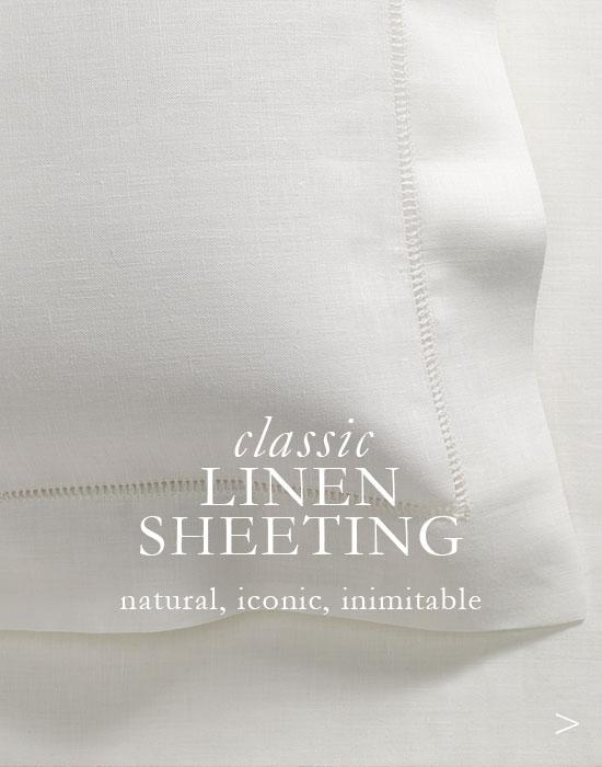 Classic Linen Sheets