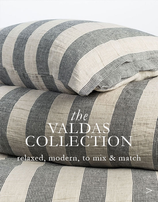 The Valdas Collection - Modern Linen Sheets