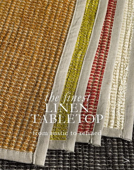 Linen Table Linens