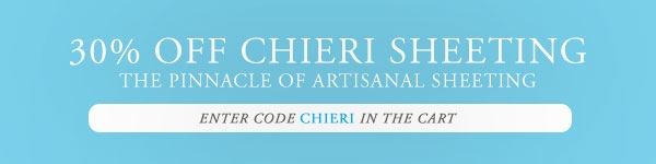 30% OFF Chieri Sheeting
